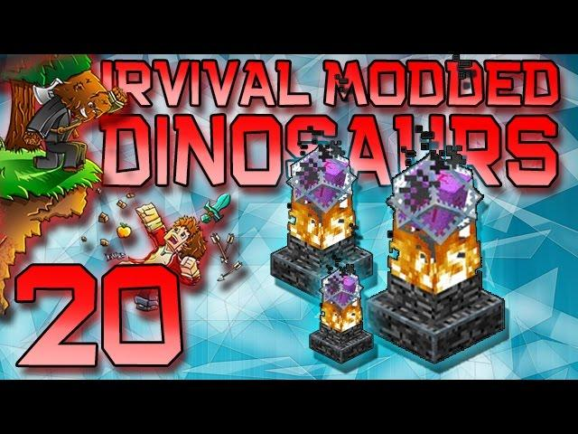 Minecraft: Modded Dinosaur Survival Let's Play w/Mitch! Ep. 20 - End Healers Must Die!
