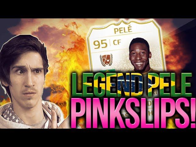 EPIC LEGEND CARD PELE PINK SLIPS!! THE BIG ONE!! | FIFA 14 ULTIMATE TEAM