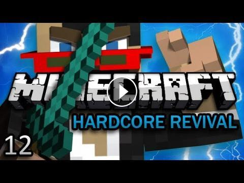 Minecraft: Hardcore Revival Ep  12 - TRY NOT TO DROWN CHALLENGE