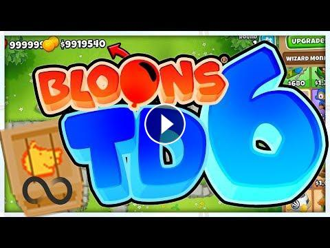 $6,000,000 INFINITE MONEY GLITCH - BLOONS TD 6
