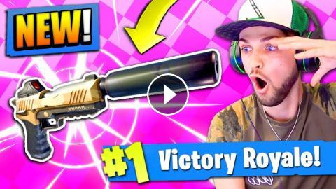 NEW* SILENCED PISTOL in Fortnite: Battle Royale! (EPIC)