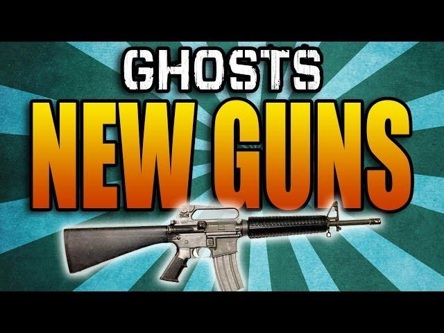 GHOSTS GUN DLC! New Guns & Extinction Episodes (Call of Duty Ghost Multiplayer Weapon Map Pack)