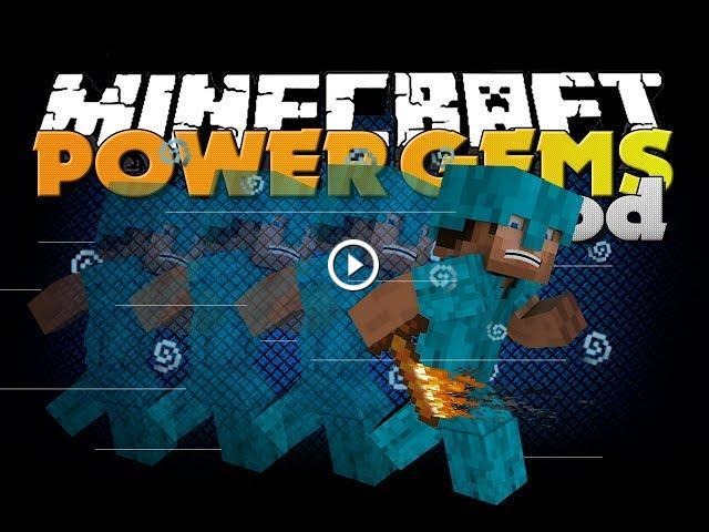 Minecraft Mod - Power Gems Mod - New Armor, Weapons, and TOOLS