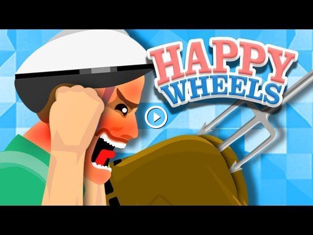 Epic butt stab happy wheels - Let s play happy wheels ...