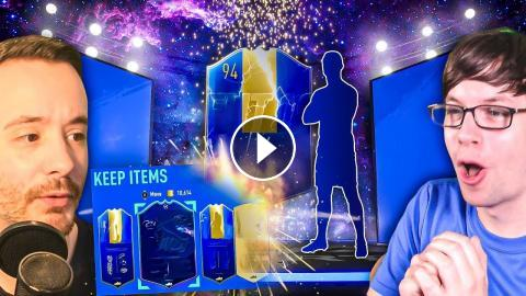 THIS CRAZY BLUE PACK LUCK SPREE IS INSANE!!! - FIFA 19 Ultimate Team