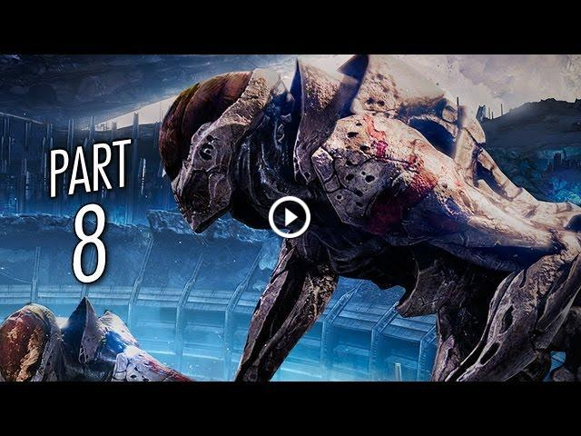 Destiny Gameplay Walkthrough Part 8 Sword Of Crota Mission 8 Ps4