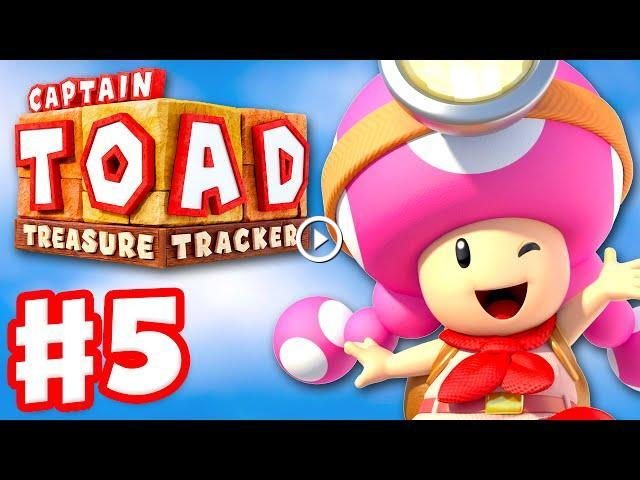 Captain Toad: Treasure Tracker - Gameplay Walkthrough Part 5