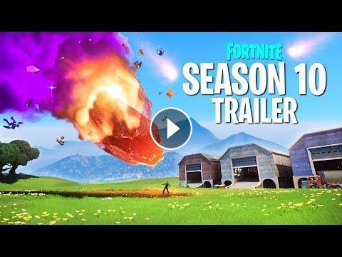 New Fortnite Season 10 Trailer Featuring Battle Pass Skins