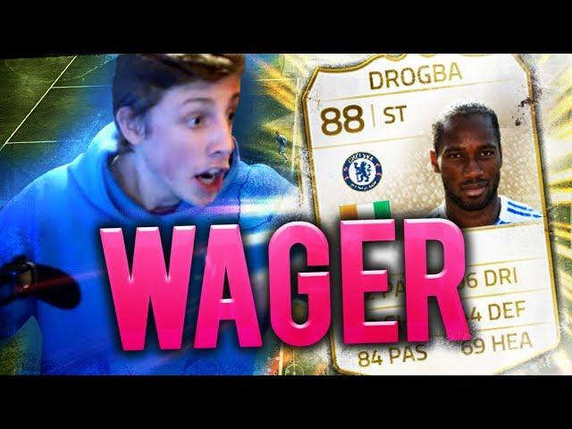 CHAIR SMASSHHH!! - IF DROGBA + LEGEND WAGER - FIFA 14 Ultimate Team