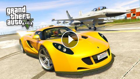 GTA 5 PC Mods - FASTEST CAR IN THE WORLD!! GTA 5 Real Cars