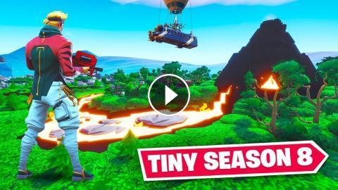 Tiny Fortnite Season 8 Map