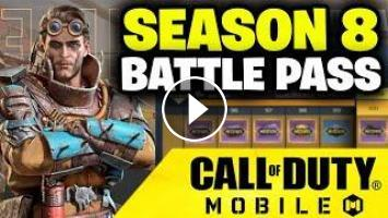 Season 8 Battle Pass In Call Of Duty Mobile
