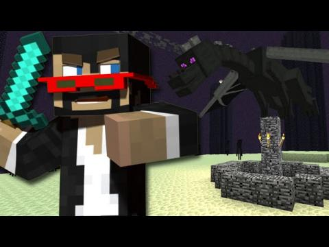 Minecraft: NEW ENDER DRAGON FIGHT! (1.9 Snapshot 15w31a - Part 2)