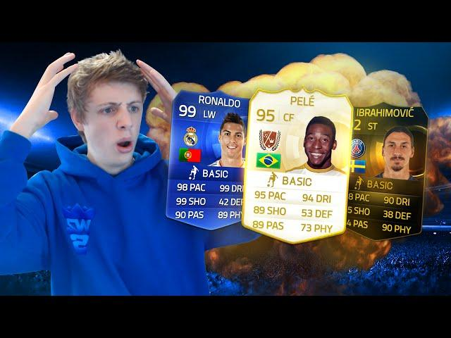 PELE AND 99 RONALDO DISCARD WAGER!! - FIFA 15