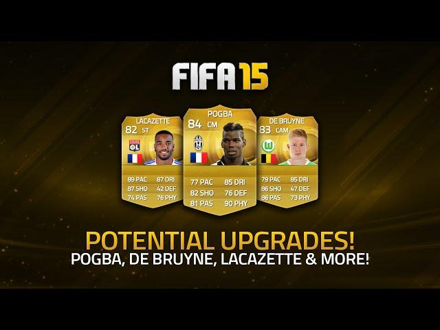 MASSIVE UPGRADES? POTENTIAL FUT UP CARDS! | FIFA 15 Ultimate Team