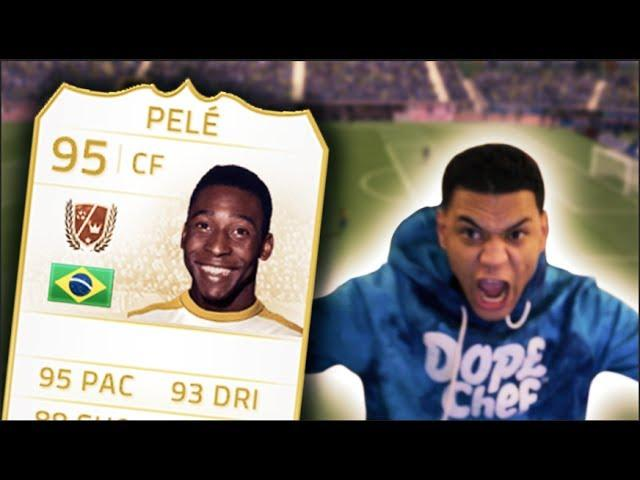 HUGE PELE WAGER! 15 MILLION COINS!!! - Fifa 14 Ultimate Team Pinkslips