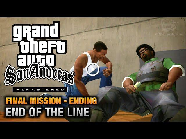 GTA San Andreas Remastered - Ending / Final Mission - End of the