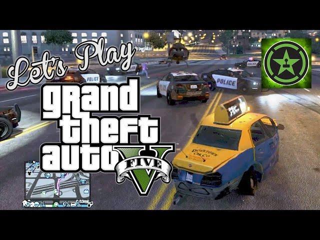 Let's Play - GTA V - Crazy Taxi