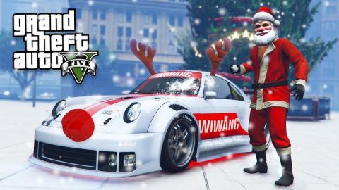 GTA 5 Online - SNOWBALL FIGHT! Next Gen GTA 5 PS4 Snow Gameplay ...