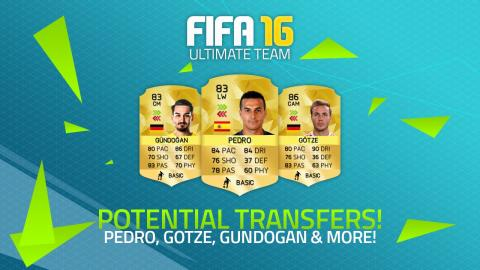 POTENTIAL FIFA 16 TRANSFERS! - GÖTZE, PEDRO, GÜNDOĞAN & MORE! | FIFA Ultimate Team