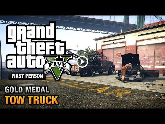 Gta 5 how to use tow truck