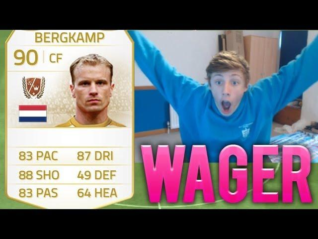 INSANE LEGEND BERGKAMP WAGER - Fifa 14 Ultimate Team LIVE