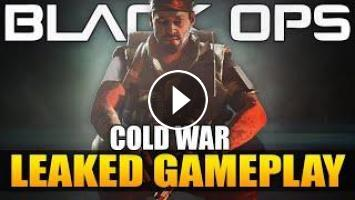 Call Of Duty 2020 Black Ops Cold War Leaked Gameplay