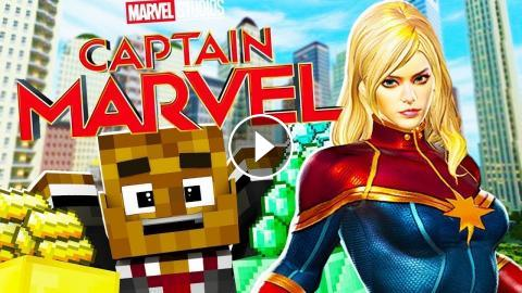 UPDATE* NEW* CAPTAIN MARVEL SUIT IN MINECRAFT - MINECRAFT