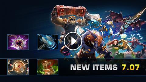 Dota 2 New Items - Patch 7 07