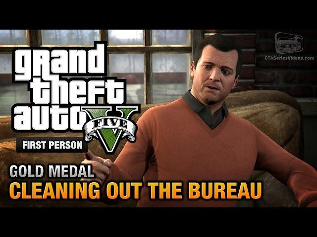 Gta 5 mission 68 the bureau raid roof entry first for Bureau raid crew