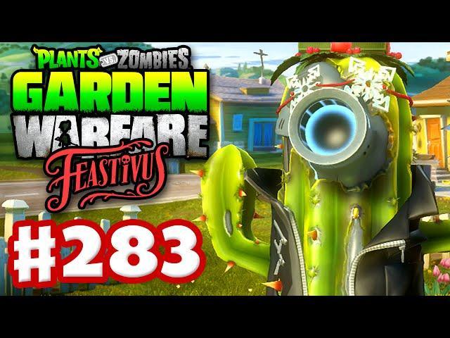 Plants Vs. Zombies: Garden Warfare   Gameplay Walkthrough Part 283    Feastivus Snowflakes!