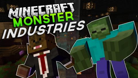 Minecraft 3vs3 Monsters Industries w/ The Pack
