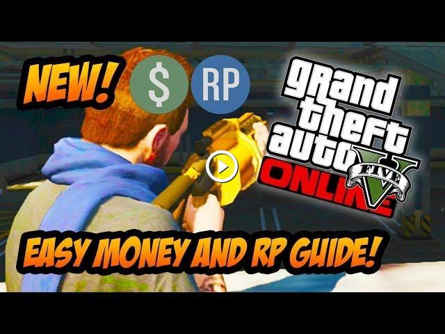 gta 5 how to get money and rp fast
