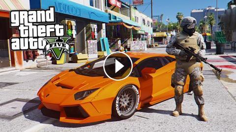 GTA 5 Mods - REAL LIFE GRAPHICS MOD!! GTA 5 Real Life