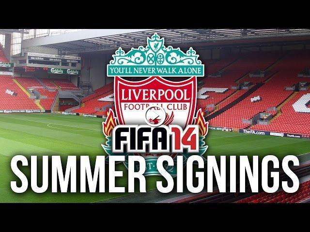 FIFA 14 Career Mode: Summer Signings - LIVERPOOL!