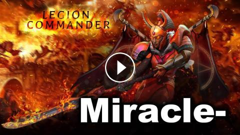 Miracle- Arcana Immortal Legion Commander Dota 2