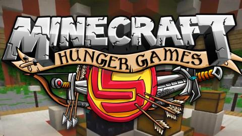 Minecraft: Hunger Games Survival w/ CaptainSparklez - HORSEBACK OWNAGE