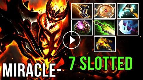 FULL-SLOTTED Beast Aeon Disk + Magic Build vs MinD_ContRoL Mid - Dota 2