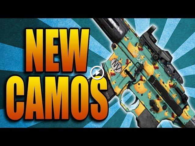 Call of Duty: Ghosts - New Camos! Space Cats, Ducky, Circuit