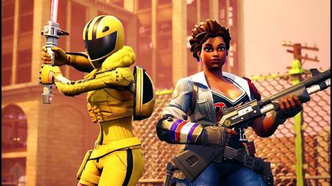 Fortnite 50v50v2 Gameplay Trailer 2018 Ps4 Xbox One Pc