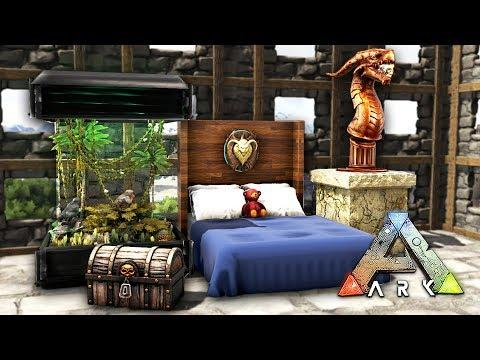 Ark Survival Evolved Finishing Our Base New Furniture Ark Aberration