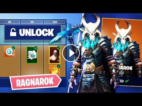 Fortnite *SEASON 5* Unlocking Ragnarok Skull & Permafrost