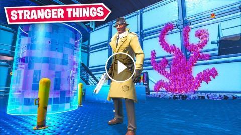 Amazing Stranger Things Escape Fortnite Creative Mode