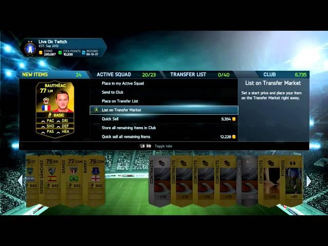 25,000 COIN SPECIAL PACKS! - INFORM INBOUND - FIFA 14 Ultimate Team