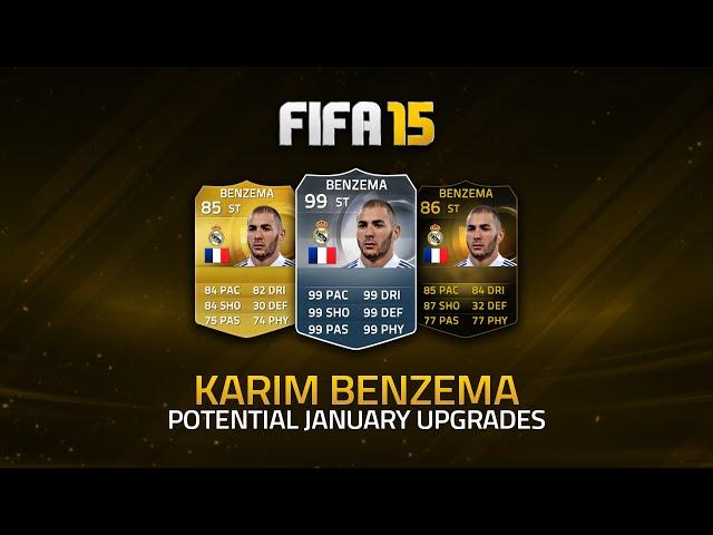 POTENTIAL UPGRADES! - BENZEMA! | FIFA 15 Ultimate Team