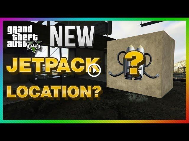 GTA 5 PS4 & Xbox One - NEW Possible JETPACK Location! (GTA 5