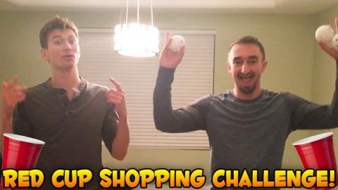 RED CUP MONEY CHALLENGE! - Shopping Spree $$$