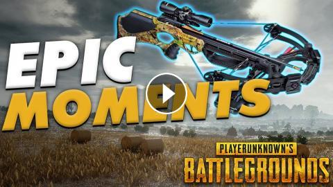 Insane Crossbow Shots Pubg Epic Funny Moments 5