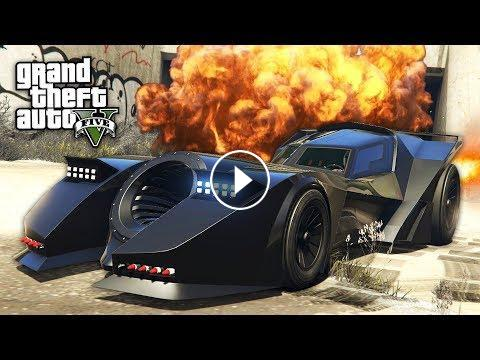 GTA 5 HALLOWEEN DLC - BATMOBILE