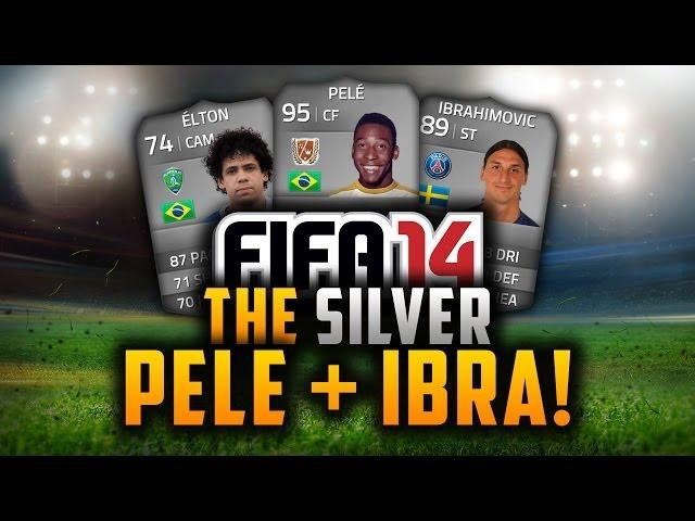 THE SILVER PELÉ + IBRAHIMOVIĆ! w/ OP SQUAD BUILDER! | FIFA 14 Ultimate Team